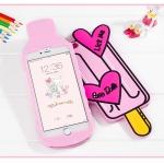 เคส iPhone 6s Plus / 6 Plus (5.5 นิ้ว) ซิลิโคน TPU 3 มิติ ไอติมแสนน่ารักน่าใช้ ราคาถูก