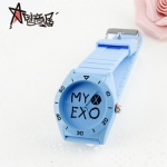 นาฬิกา MY EXO สีฟ้า (กันน้ำ)