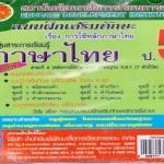 แบบฝึกหัดเสริมทักษะหลักภาษาไทย ป.5