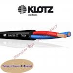 Klotz Twinax / 4x2.5qmm