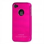 I Phone 4,4S Snap-on Brushed : Rose