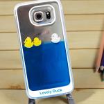 เคส Samsung Galaxy S6 พลาสติกเป็ดน้อยลอยน้ำน่ารักมาก ราคาถูก