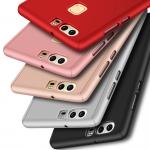 Case Huawei P9 พลาสติกเคลือบเมทัลลิคแบบประกบหน้า - หลังสวยงามมากๆ ราคาถูก