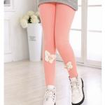 เลคกิ้ง(มีขนด้านในอ่อนๆ) สีชมพู แพค 5 ตัว ไซส์ 110-120-130-140-150