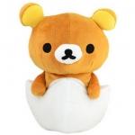 ตุ๊กตาหมีรีลัคคุมะ Rilakkuma bear sit in Egg skating plush cushion tamagotchi ★ Tamagotchi series