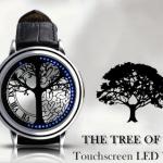 แฟชั่นนาฬิกาข้อมือ LED รุ่น THE TREE OF LIFE พร้อมส่ง