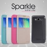 เคส Samsung Galaxy E7 แบบฝาพับ NILLKIN โชว์หน้าจอสีสันสดใส สวยหรูมากๆ ราคาถูก