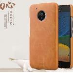 เคส Moto G5 Plus พลาสติกเคลือบหนังเทียมลายสวยมากๆ ราคาถูก