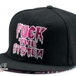 หมวกฮิฟฮอฟ G-dragon ( FUCK THE SYSTEM )