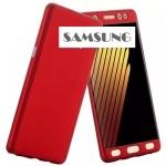 เคส Samsung Galaxy J7 (2015 รุ่นแรก) พลาสติกเคลือบเมทัลลิคแบบประกบหน้า - หลังสวยงามมากๆ ราคาถูก