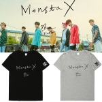 เสื้อยืด (T-Shirt) MONSTA X - SHINE FOREVER