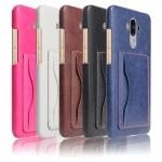 เคส Huawei Mate 9 หนังเทียมสีพื้นคลาสสิค มีที่สามารถใส่บัตรได้ ควรมีไว้สักอัน ราคาถูก