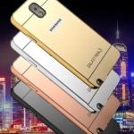 เคส Samsung Galaxy Note 3 แบบประ 2 ชิ้น ขอบเคสโลหะ Bumper + พร้อมแผ่นฝาหลังเงางามสวยจับตา ราคาถูก