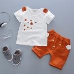 ชุดเซตน้องหมีสีส้มอิฐ [size 6m-1y-2y-3y]