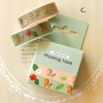 Masking Tape Box Set 2 (Green Pony)