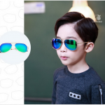 แว่นตา (UV400) เลนส์สีเขียว แพ็ค 5อัน ฟรีไซส์
