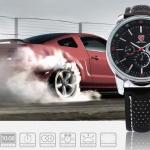 นาฬิกาข้อมือชายแฟชั่น Shank Sport watch SH092