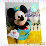 """ตุ๊กตามิกกี้เม้าส์ บุรุษไปรษณีย์ส่งจดหมาย Disney Mickey Mouse postman plush doll 11"""""""