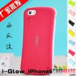case iphone 5 เคสไอโฟน5 เคสซิลิโคน TPU i-Glow ทรงเว้า มีเส้นเป็นลายแตงโม สีหวานๆ น่ารักๆ นุ่มๆ สวยมากๆ สวยสุดๆ New i-Glow watermelon pattern iPhone5 phone shell the TPU protective