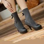 [พร้อมส่ง] IST5128 ถุงเท้า ติดโบ แบบริ้บบิ้นน่ารัก สไตล์ญี่ปุ่น