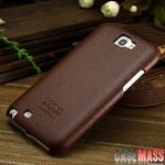 เคส Note 2 Case Samsung Galaxy Note 2 II N7100 เคสหนังเกาะหลัง Cooya ด้านในนุ่ม เรียบสวย หรูๆ ดูดีสุดๆ Genuine Cooya business models designed leather protective sleeve
