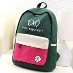 กระเป๋าสะพายหลัง EXO LOGO 2014 สีเขียว