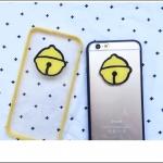 เคส iPhone SE / 5s / 5 พลาสติกโปร่งใสขอบ TPU สัญลักษณ์โดเรมอน ราคาส่ง ขายถูกสุดๆ