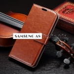 Case Samsung Galaxy A8 แบบฝาพับหนังเทียม สามารถใส่บัตรได้ ใช้เป็นกระเป๋าสตางค์รวมกับเคสได้เลย ราคาส่ง ราคาถูก