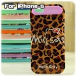 case iphone 5 เคสไอโฟน5 i-Glow เคสซิลิโคน ลายสวยๆ