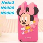 เคสซัมซุงโน๊ต3 Case Samsung Galaxy note 3 เคสมินนี่เม้าส์ซิลิโคน 3D น่ารักสุดๆ เคสมือถือราคาถูกขายปลีกขายส่ง