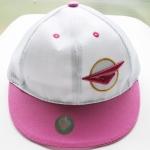 หมวกSNSD Girls Generation (สีขาวชมพูแบบปัก)