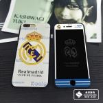 Case iPhone 7 (4.7 นิ้ว) ซิลิโคน TPU + ฟิล์มด้านหน้า ลายเข้าชุดทีมฟุตบอลสุดเท่ ราคาถูก