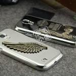 case S4 เคส Samsung Galaxy S4 i9500 HARLEY-DAVIDSON เคสโลหะฮาร์เลย์เดวิดสัน นกเหล็กฝังเพชร สวยๆ โลหะด้านๆ สาวกฮาร์เลย์ไม่ควรพลาด