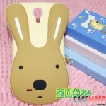 เคส Samsung S4 เคสซิลิโคน 3D กระต่ายหูยาวน่ารักๆ dimensional sugar bunny rabbit Korea
