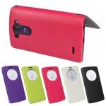 เคส LG G3 แบบฝาพับโชว์หน้าจอวงกลม สีสันสดใส ลูกกวาดมากๆ ราคาถูก