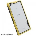 เคสโซนี่ Z1 Case Sony Xperia Z1 ซิลิโคน bumper ของเคสสีทูโทน