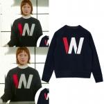 เสื้อแขนยาว (Sweater) W ในซีรี่ย์ Weightlifting Fairy Kim Bok Joo