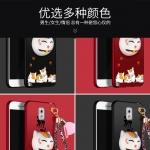 เคส Samsung Note 3 พลาสติกสกรีนลายการ์ตูนแมวกวักนำโชค Lucky Neko พร้อมที่ตั้งและที่เก็บสายในตัวคุ้มค่ามากๆ ราคาถูก