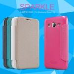 เคส Samsung Galaxy J2 แบบฝาพับหนังเทียมสีเมทัลลิคสุดคลาสสิคสวยหรูมากๆ ราคาถูก