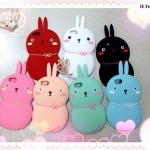 เคสไอโฟน5 case iphone 5s ซิลิโคน Mozzi กระต่ายน้อยน่ารักแนวเกาหลีๆ