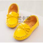 รองเท้าเด็กแฟชั่น สีเหลือง แพ็ค 5คู่ ไซส์ 26-27-28-29-30