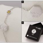 EXO Bracelet - ข้อมือแฟนเมด (ระบุศิลปิน)