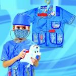 ชุดสัตวแพทย์+อุปกรณ์ตามรูป แพ็ค 3 ชุด ไซส์ 50*38 cm (เหมาะสำหรับ 3-8 ขวบ)