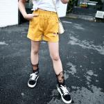 กางเกง สีเหลือง แพ็ค 5 ชุด ไซส์ 120-130-140-150-160 (เลือกไซส์ได้)