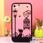 case iphone 4s 4 เคสไอโฟน4s 4 เคสลายอาร์ตๆ หวานๆ น่ารักๆ แยกประกอบ 3 ชิ้น สวยๆ