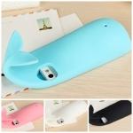case iphone 5 เคสไอโฟน5 เคสปลาวาฬน่ารักๆ แนวๆ ใช้หางเกี่ยวเพื่อห้อยได้