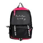 กระเป๋าเป้เดินทาง Kim Soo Hyun (สีดำ-แดง)
