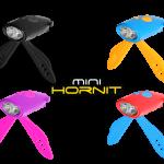 แตรไฟฟ้าและไฟหน้า MINI HORNIT LIGHT&25 SOUNDS