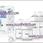 Pre order - Avent Microwave Steam Steriliser BPA FREE + Avent Starter kit BPA FREE