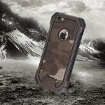 เคส iPhone 6s / iPhone 6 (4.7 นิ้ว) เคสกันกระแทกแยกประกอบ 2 ชิ้น ด้านในเป็นซิลิโคนสีดำ ด้านนอกพลาสติกลายทหาร ลายพราง สวย แกร่ง ถึก ราคาถูก